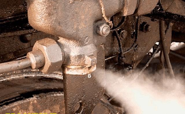 nguy hiểm khi mua máy nén khí cũ