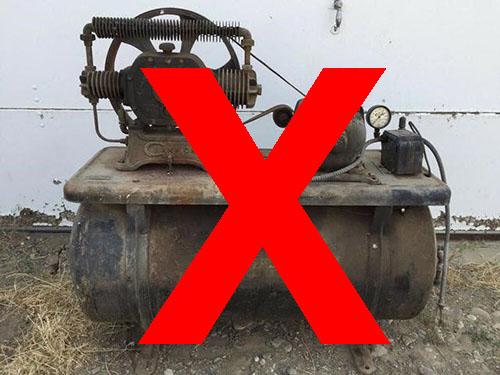 Có nên mua máy nén khí không rõ nguồn gốc?