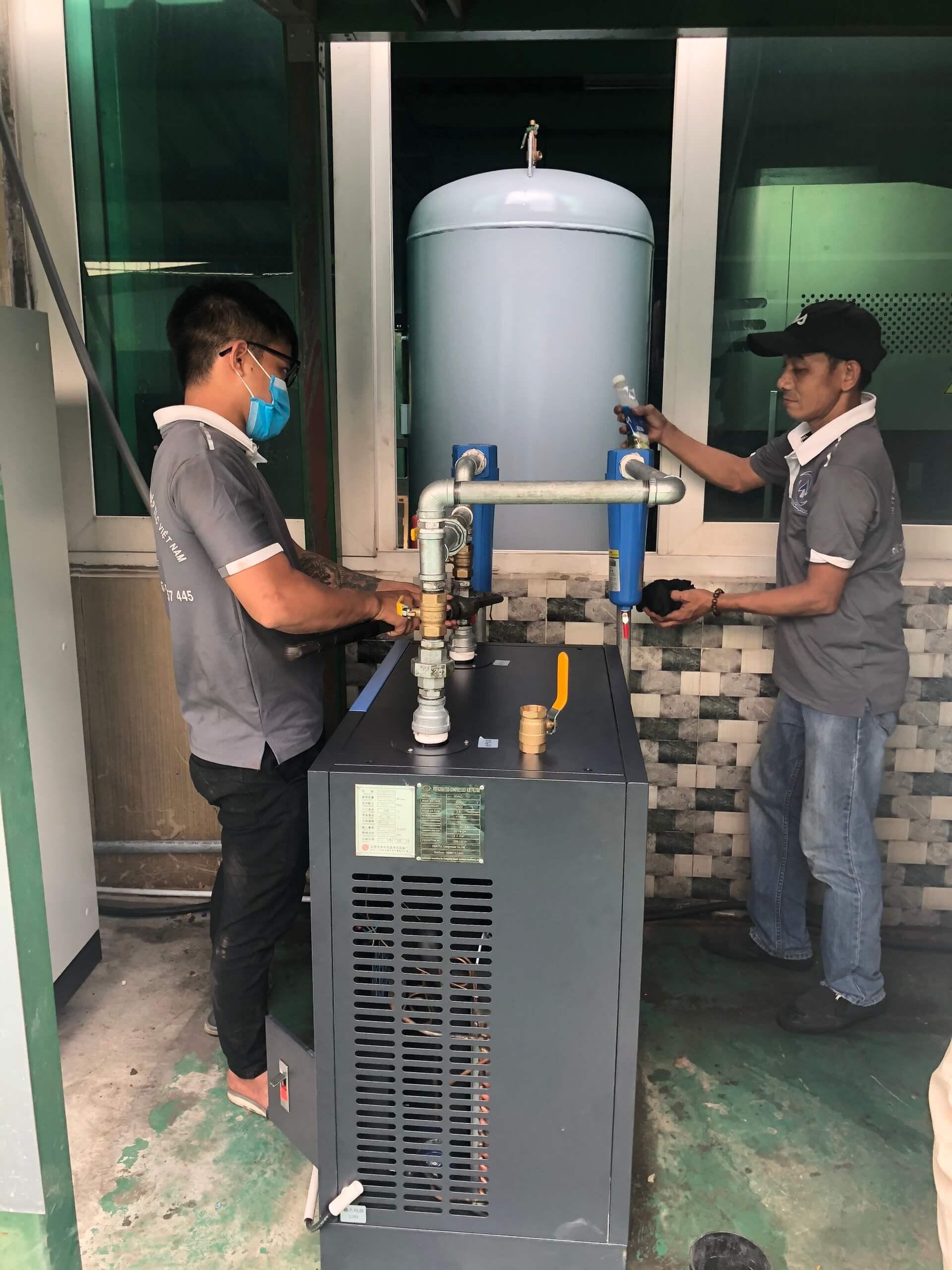 Hãy thường xuyên kiểm tra để phát hiện kịp thời các vấn đề của máy nén khí