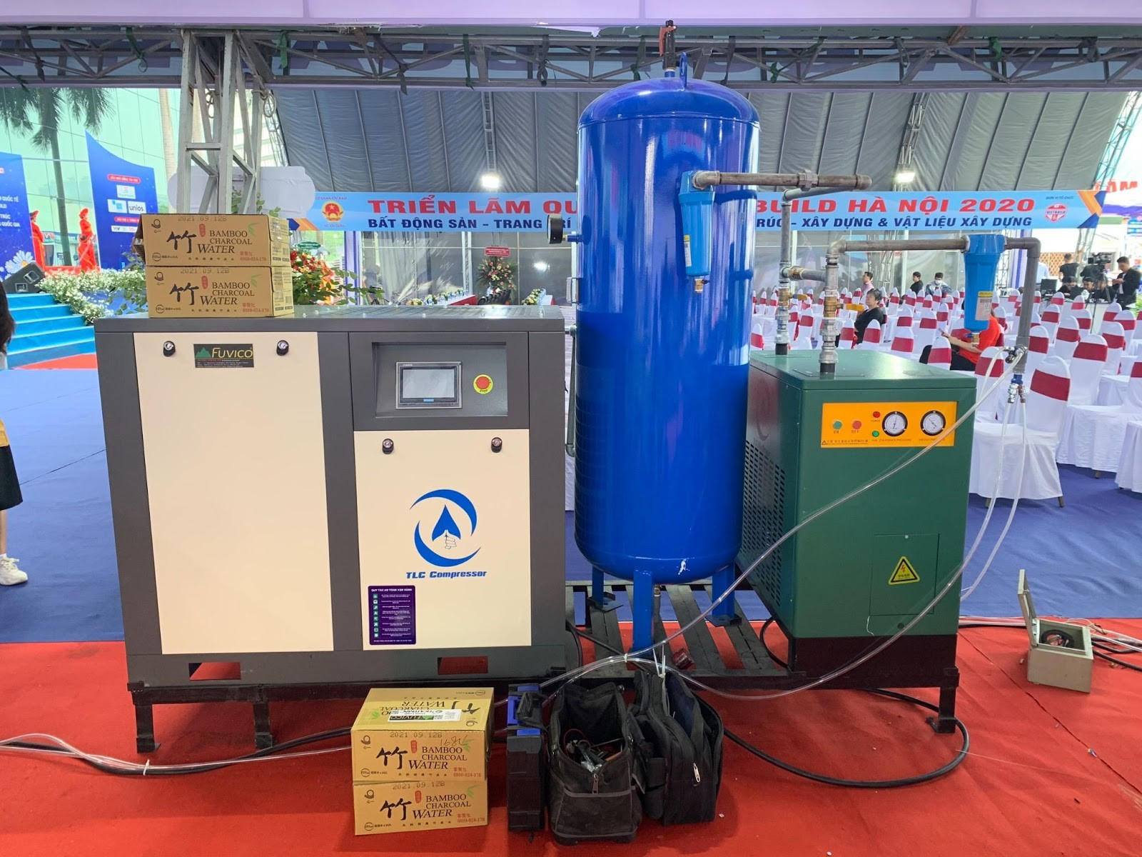 TLC Compressor triễn lãm quốc tế