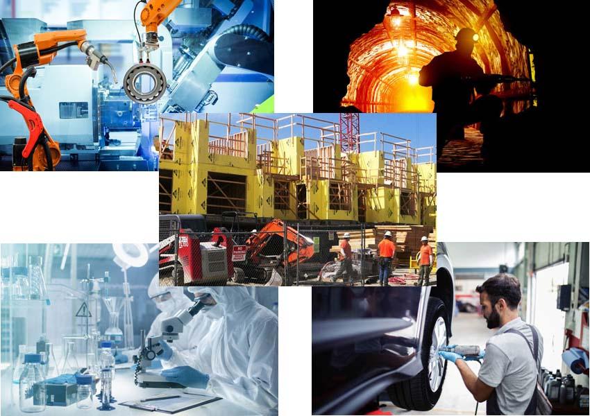 Ứng Dụng máy nén khí trong công nghiệp
